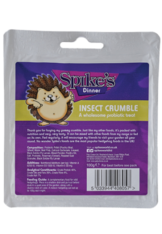 Spikes Hedgehog Food Insect crumble