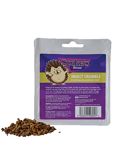 Spike's Hedgehog Insect Crumble Food