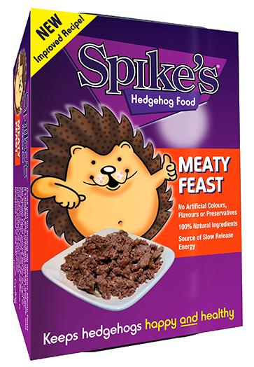 Spike's Hedgehog Food Meaty Feast new recipe
