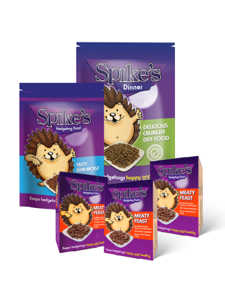 Spikes Hedgehog Food Bundle