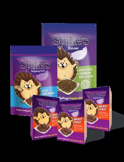 Spikes Hedgehog Food Bundle
